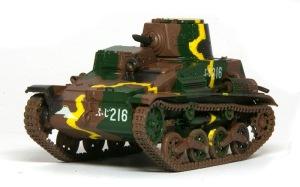 九四式軽装甲車[TK] デカール貼り
