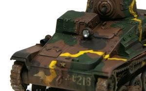 九四式軽装甲車[TK] ドライブラシ