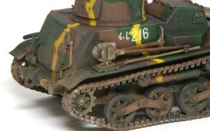 九四式軽装甲車[TK] 銀ブラシ