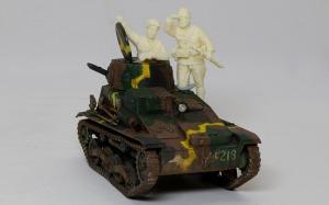 帝国陸軍・戦車兵&歩兵セット 組立て