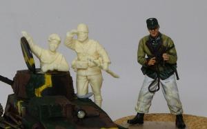 帝国陸軍・戦車兵&歩兵セット ドラゴンのドイツ兵と比較