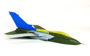 パナビア・トーネードIDS 2色目の塗装