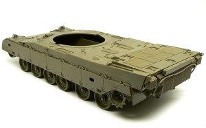 陸上自衛隊・90式戦車 車体の組立て