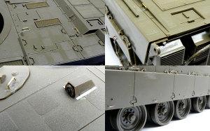陸上自衛隊・90式戦車 手持ちの部材でディテールアップ