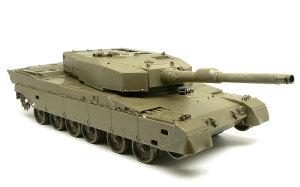 陸上自衛隊・90式戦車 砲塔の組立て