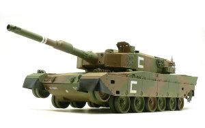 陸上自衛隊・90式戦車 デカール貼り