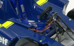 タイレルP34 運転席のディテールアップ