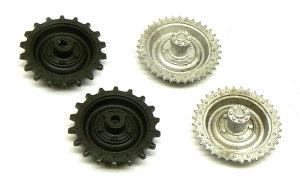 ユニバーサルキャリア用ホワイトメタル製起動輪 1/35 モデルカステン