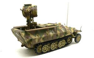 SD.kfz.251/20ウーフー 細部の塗分け