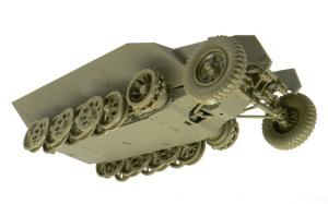 Sd.kfz.251/20ウーフー シャーシと足まわりの組立て