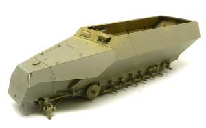 SD.kfz.251/20ウーフー 車体上下の貼り合わせ