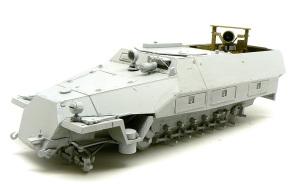 SD.kfz.251/20ウーフー 車体の組立てとサフ吹き