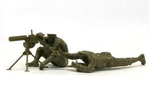 アメリカ歩兵・水冷機関銃チーム