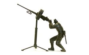 アメリカ歩兵・機関銃チーム M2ブローニング重機関銃