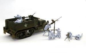アメリカ歩兵・機関銃チーム サフ吹き