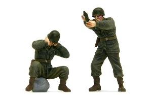 アメリカ歩兵・機関銃チーム 81mm迫撃砲チーム