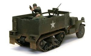 M4自走榴弾砲と迫撃砲チームフィギュア