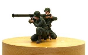 アメリカ歩兵・機関銃チーム ロケットランチャーチーム