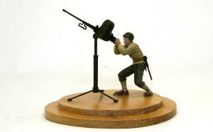 アメリカ歩兵・機関銃チーム M2重機関銃
