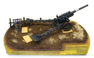 重野戦榴弾砲 地面の制作