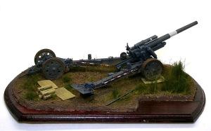 重野戦榴弾砲 草の塗装