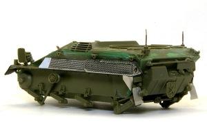 ウイーゼル装甲車Mk20A1 車体の組み立て