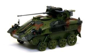 ウイーゼル装甲車Mk20A1 細部の塗分け