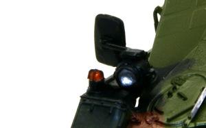 ウイーゼル装甲車Mk20A1 ヘッドライトと方向指示器