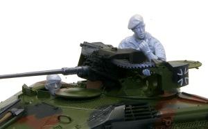 ウイーゼル装甲車Mk20A1 フィギュアの組み立て