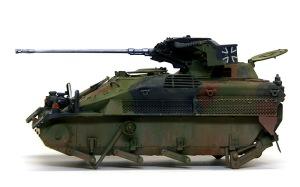 ウイーゼル装甲車Mk20A1 汚し塗装