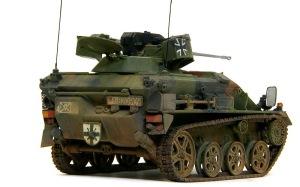 ウイーゼル装甲車Mk20A1 アンテナ