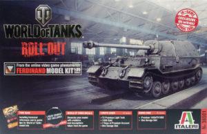 World of Tanks・フェルディナント駆逐戦車 1/35 イタレリ