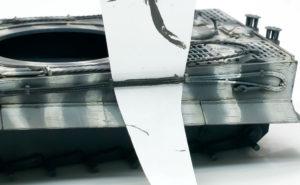 履帯交換用ワイヤーの塗装