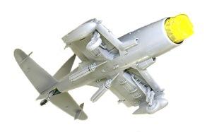 ワイバーンS.4後期型 翼の裏側