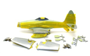 ワイバーンS.4後期型 機体の塗装1色目