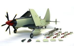 ワイバーンS.4後期型 機体の塗装2色目