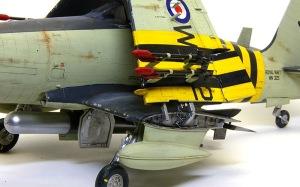 ワイバーンS.4後期型 主翼断面のディテールアップ
