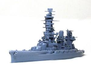 戦艦山城 1944年 仮り組み
