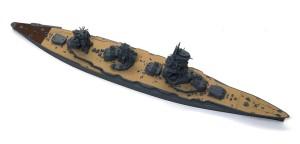戦艦山城 1944年 細部の塗分け