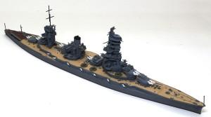 戦艦山城 1944年 大砲の取り付け
