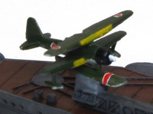 戦艦山城 1944年 艦載機