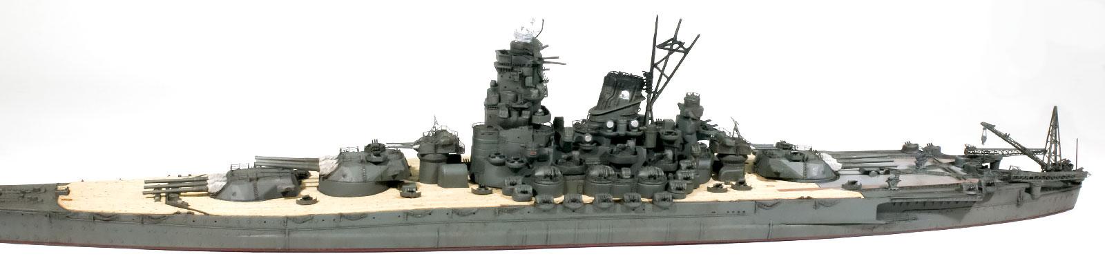 構築物、砲塔の取り付け