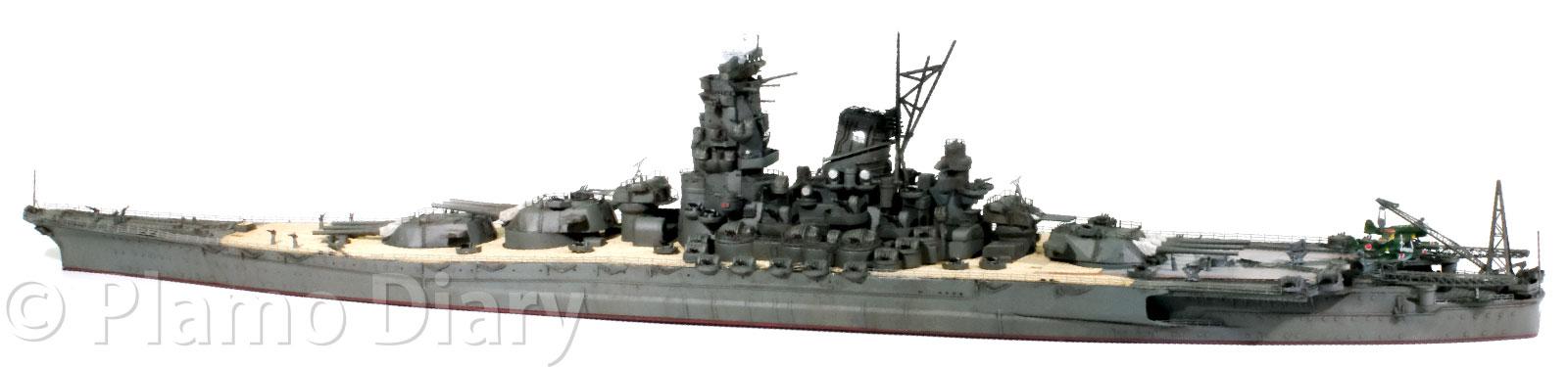 艦載機と単装機銃の取り付け