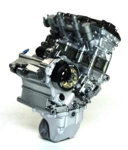ヤマハ・YZR-M1'09 エンジン