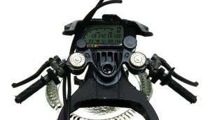 ヤマハ・YZR-M1'09 ステアリングとメーターパネル