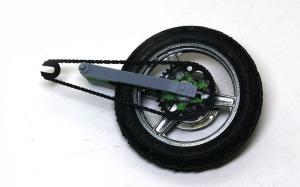 カワサキ・Z1-R改 後輪