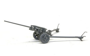 57mm対戦車砲ZIS-2 組み立て完了