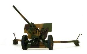 57mm対戦車砲ZIS-2 砲の仕上げ