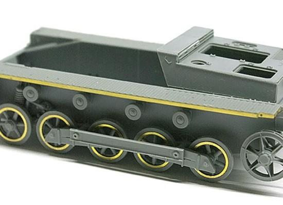 足まわりの組立て 1号B型指揮戦車
