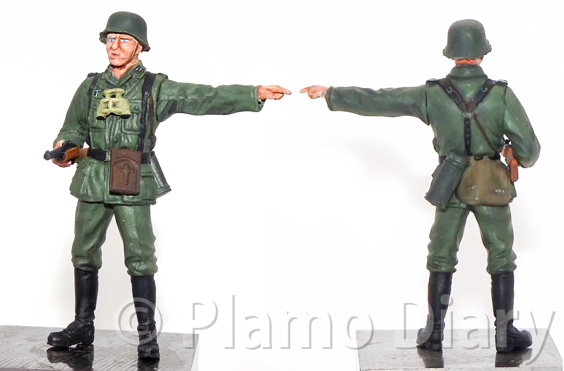 歩兵の塗装